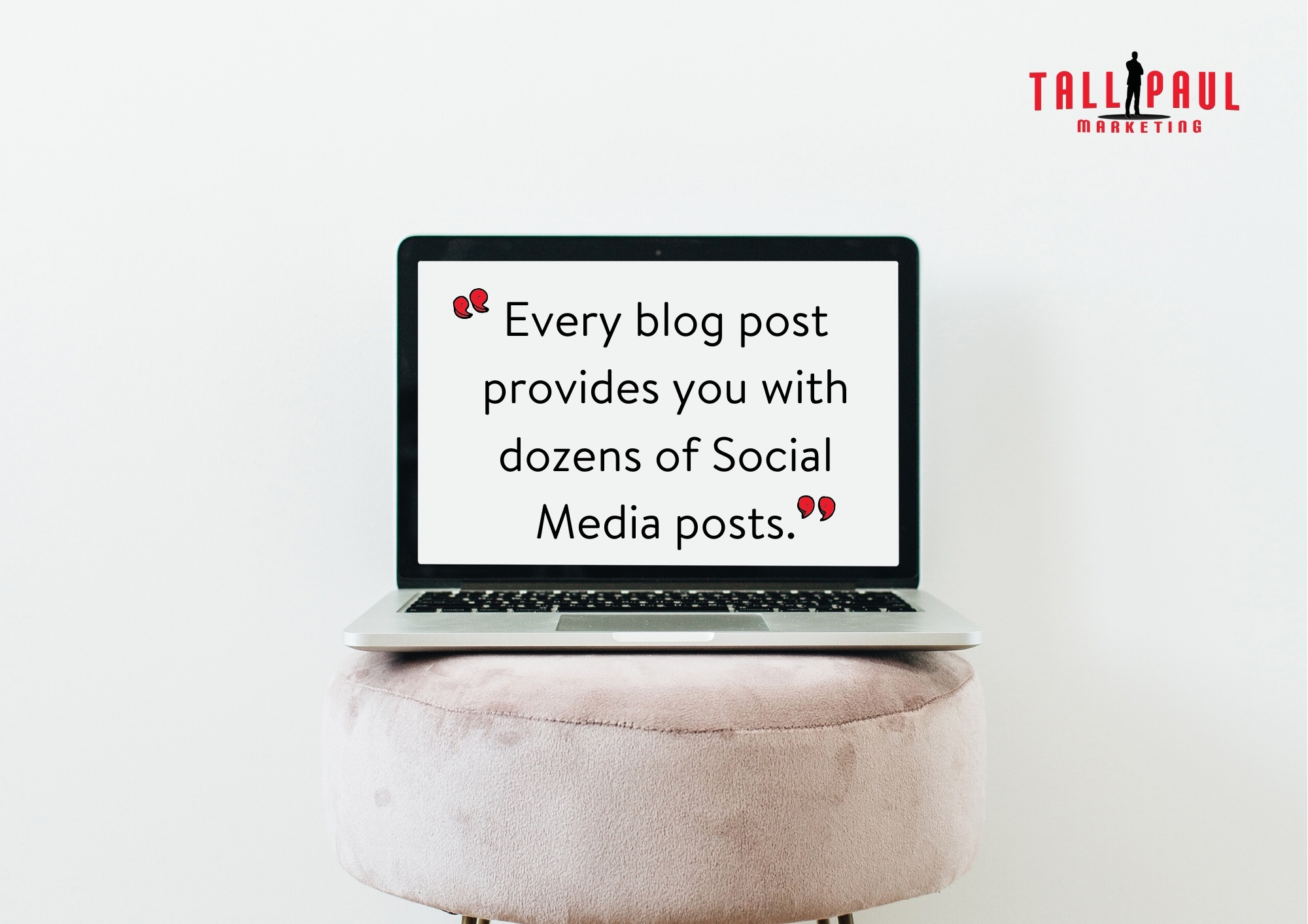 Every blog post provides you with dozens of Social Media posts - Northern Ireland Copywriter and Blog Writer