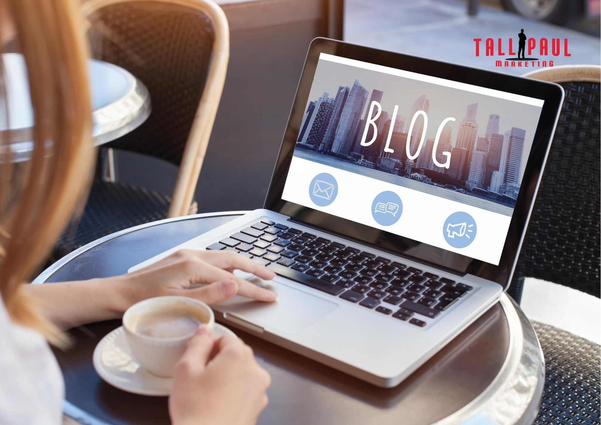 The first ever blog was in 1999, but in 2020 a business blog in one of half a billion internet blogs - Tall Paul Marketing - NI freelance Copywriter