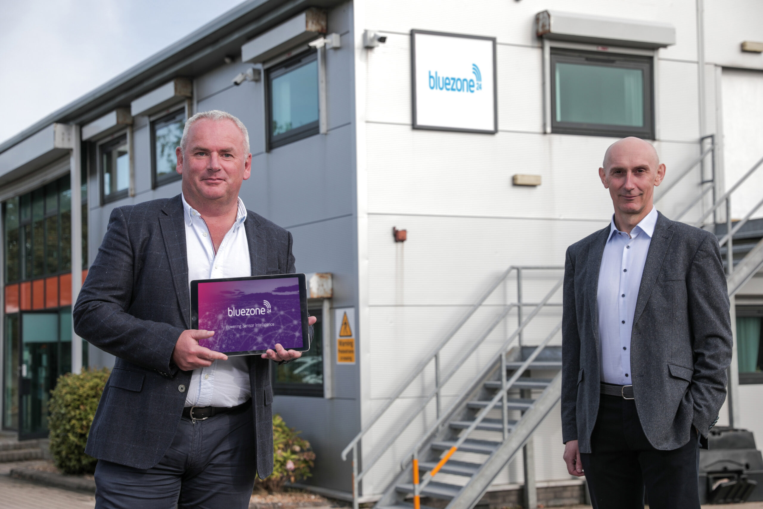 Newry's Bluezone Technologies invests over £685k in sensor technology to combat Legionella outbreaks following Covid-19 lockdown - Newry business