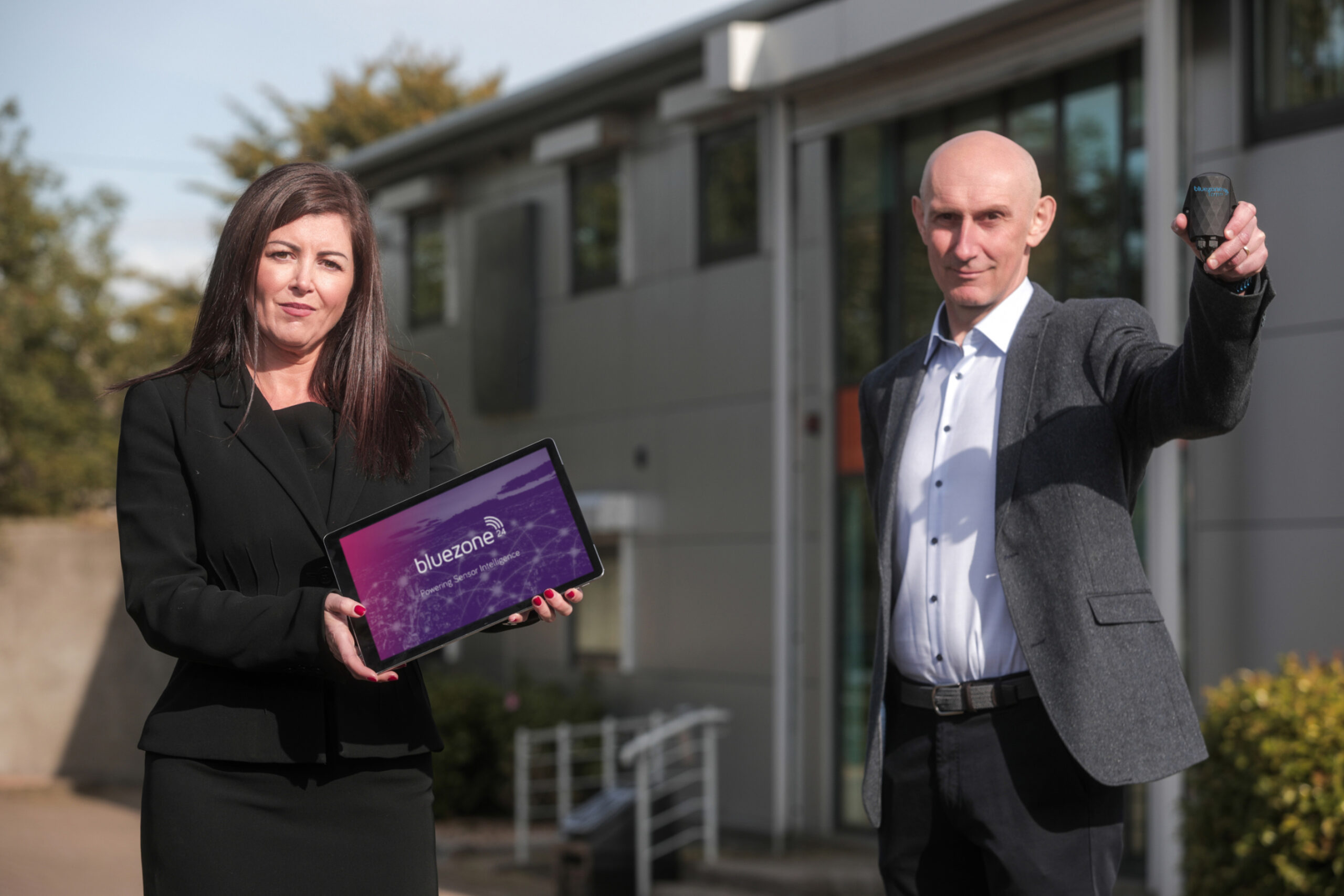 Newry's Bluezone Technologies invests over £685k in sensor technology to combat Legionella outbreaks following Covid-19 lockdown - Newry company Bluezone