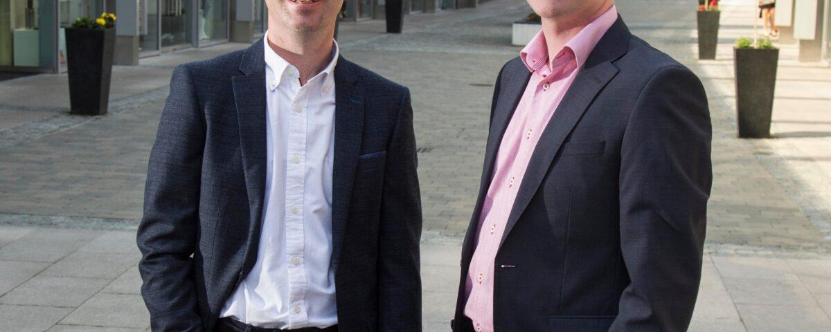 Colin and Barry Gray - Gray Design Newry - NI Business news - Freelance Northern Ireland Copywriter Tall Paul Marketing