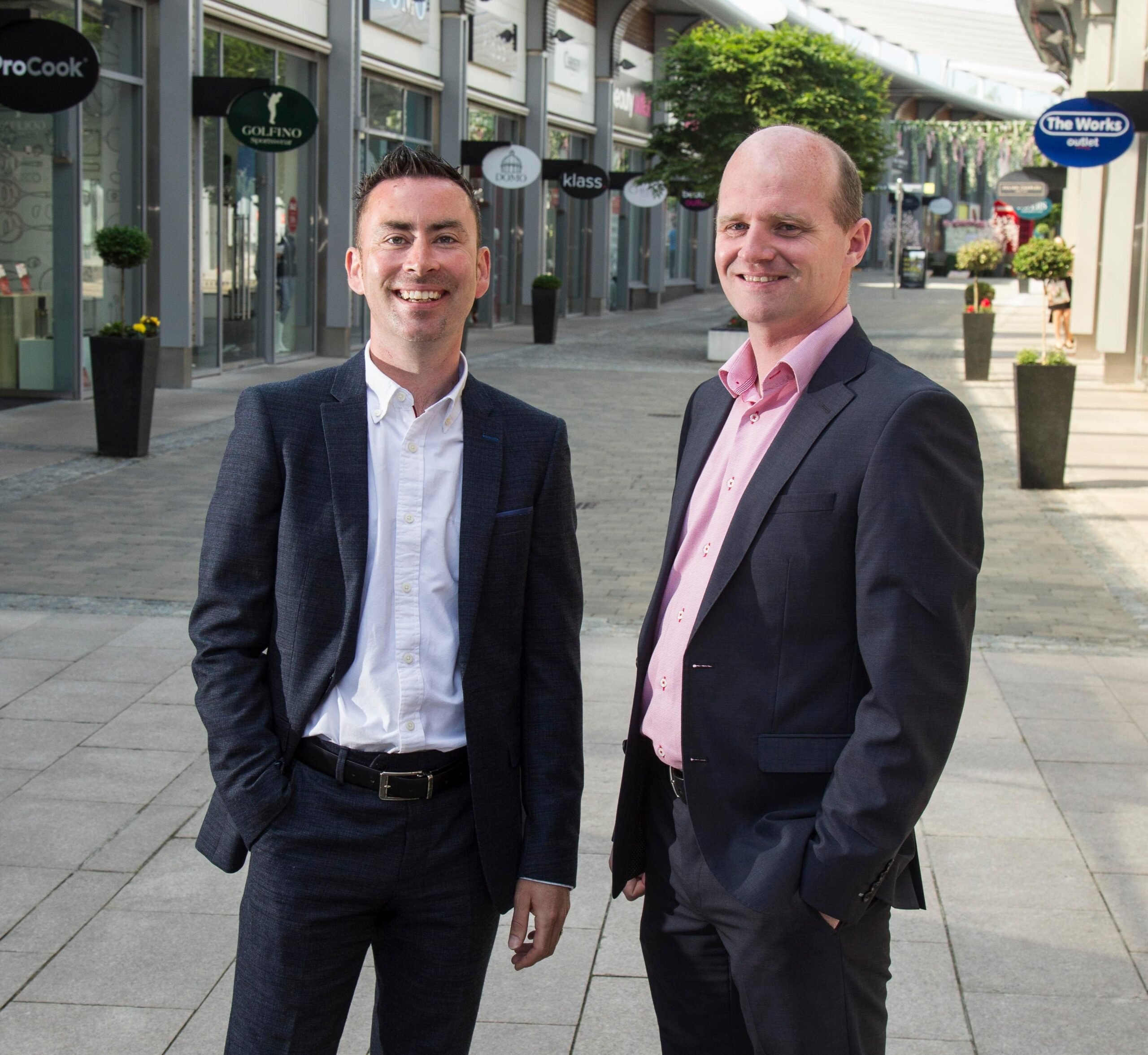 Colin and Barry Gray - Gray Design Newry - NI Business news - Freelance Northern Ireland Copywriter Tall Paul Marketing