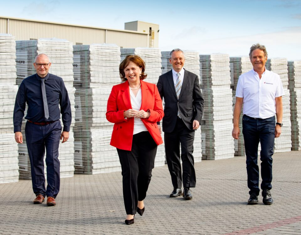 NI business news - 95 jobs and £30million investment by Tobermore Concrete - Freelance Northern Ireland Copywriter Paul Malone - Tall Paul Marketing