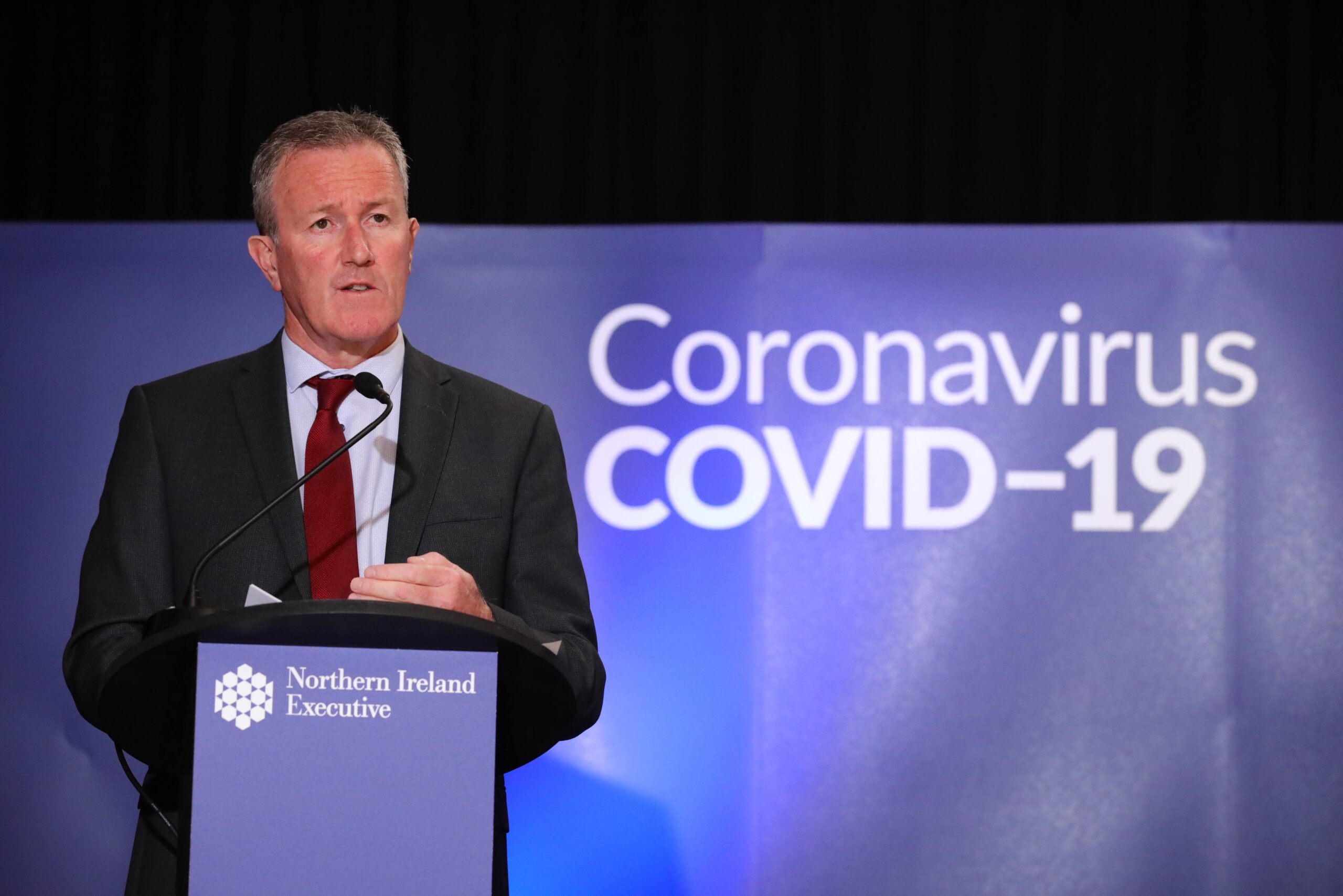 Finance Minister Conor Murphy Northern Ireland businesses: Financial support announced for businesses during COVID restrictions Coronavirus Covid19 NI business news - Freelance Belfast Copywriter Paul Malone - Tall Paul Marketing