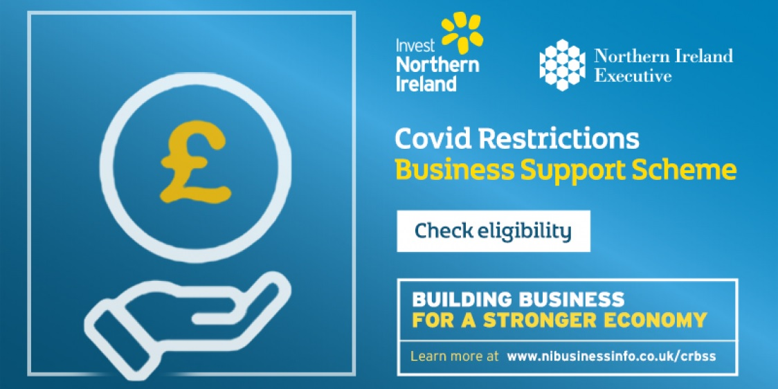 Northern Ireland CRBSS Covid Restrictions Business Support Scheme Applications for Part B open on Thursday at 6pm - Ireland Copywriter Freelance Blog Writer Ireland Belfast