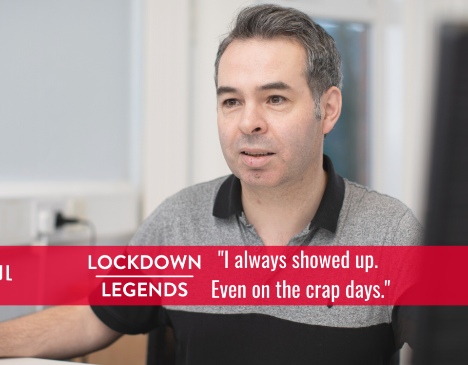 Lockdown Legends - Michael Wall Codefixer Belfast SEO - Tall Paul Marketing - Content Writer Freelance