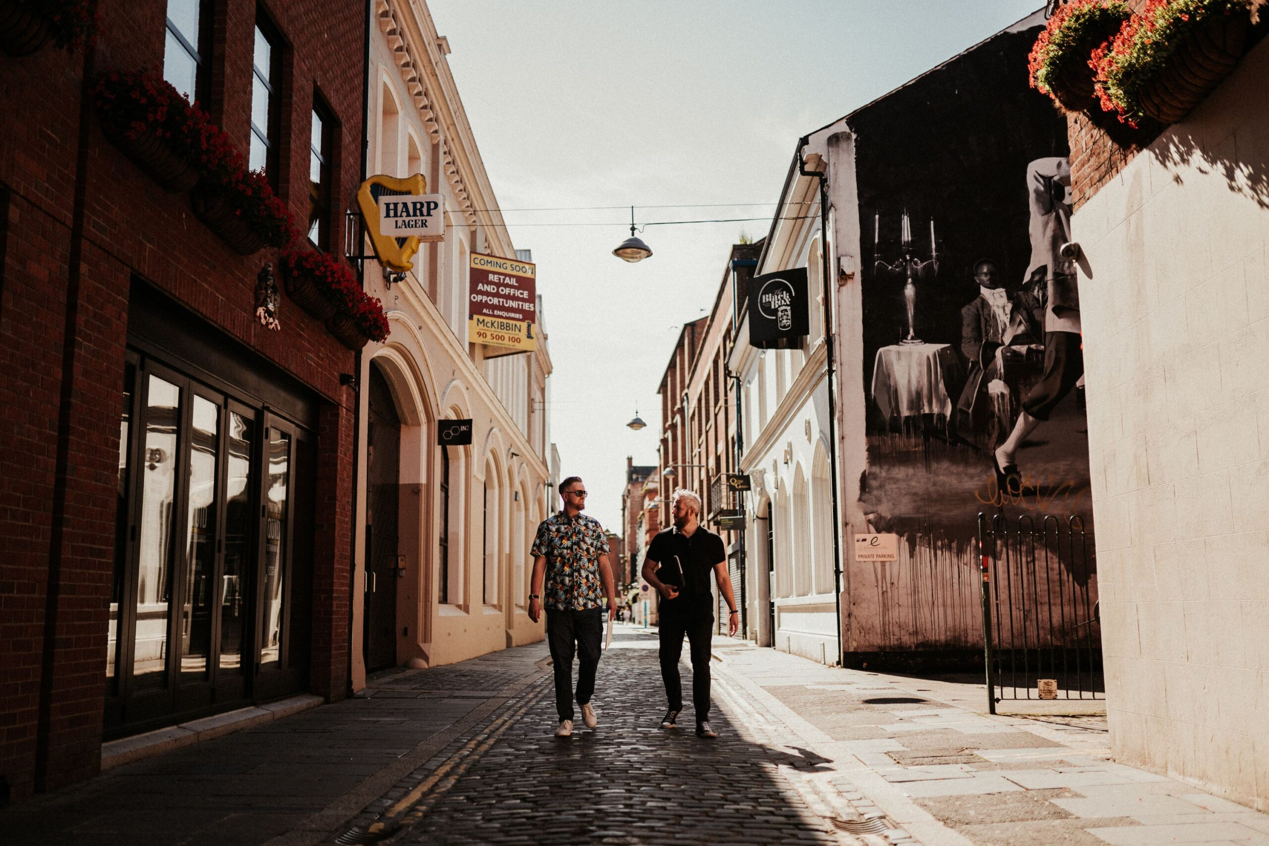 Cathedral Quarter, Belfast. NI has a lot of digital marketing experts for hire to help you with your business. Content Writer, Copywriter Ireland