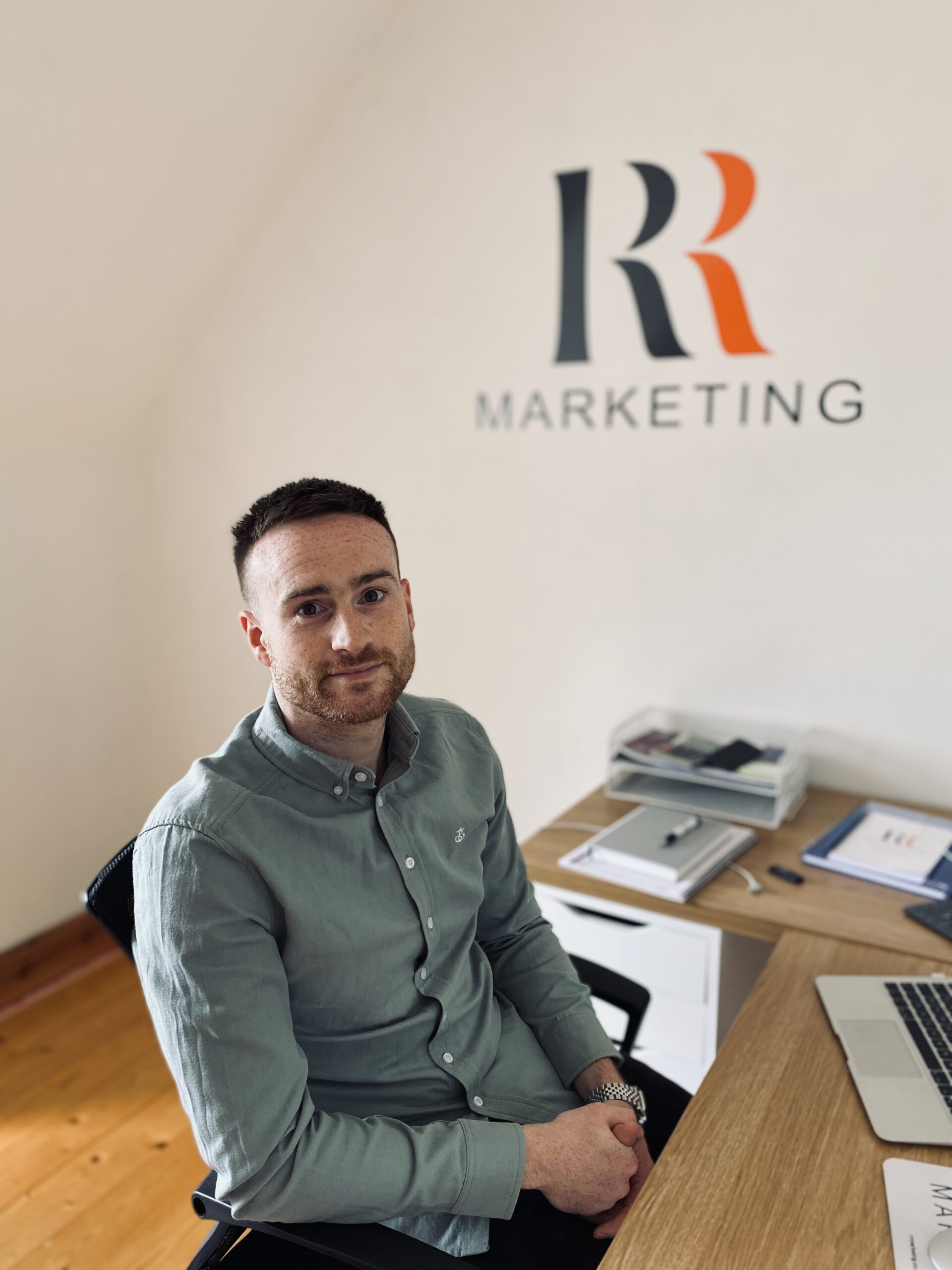 Northern Ireland entrepreneur Richie Reynold, RR Marketing - Content Writing Northern Ireland - NI Copywriter Paul Malone - Freelance Writer Belfast