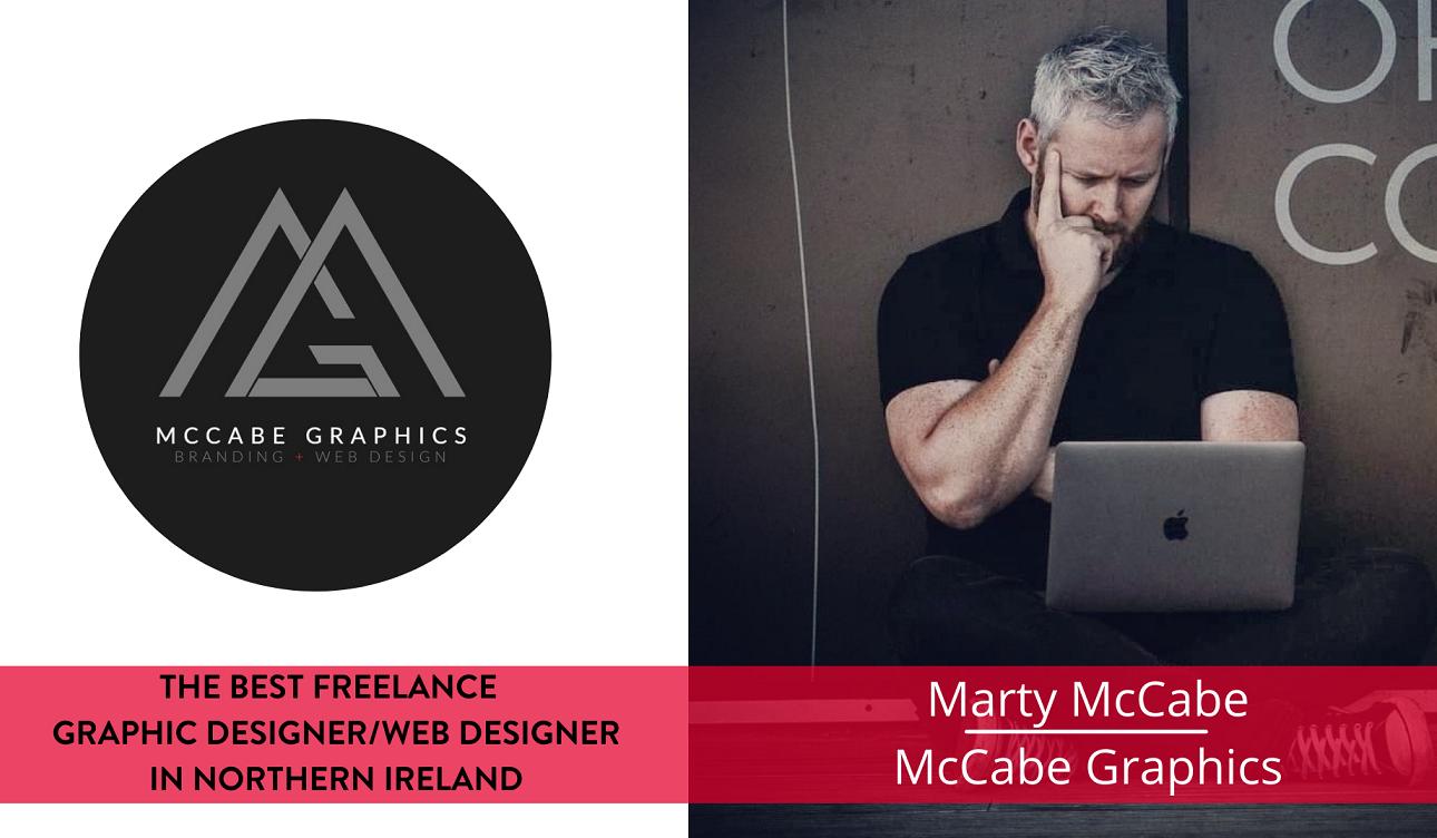 The best freelance Graphic Designer in Northern Ireland - Marty McCabe, McCabe Graphics