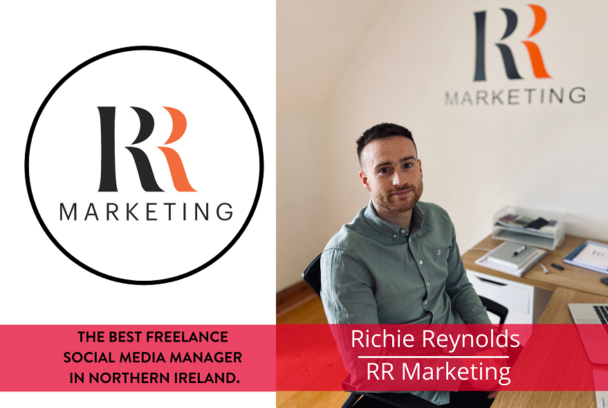 The best Social Media Manager in Northern Ireland, Richie Reynolds, RR Marketing
