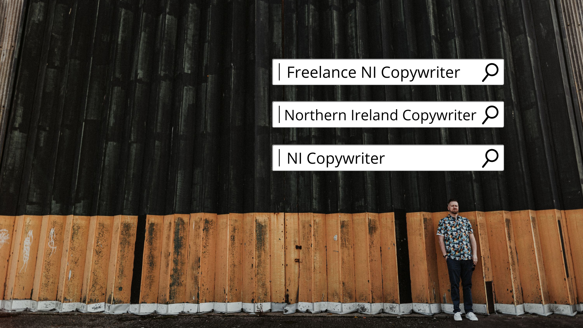 I wanted to rank on Google search for these three keywords and phrases. 1. Northern Ireland Copywriter 2. NI Copywriter 3. Freelance NI Copywriter