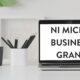 NI Micro Business Grant - Website content writer NI - Northern Ireland covid support fund - Content Marketing