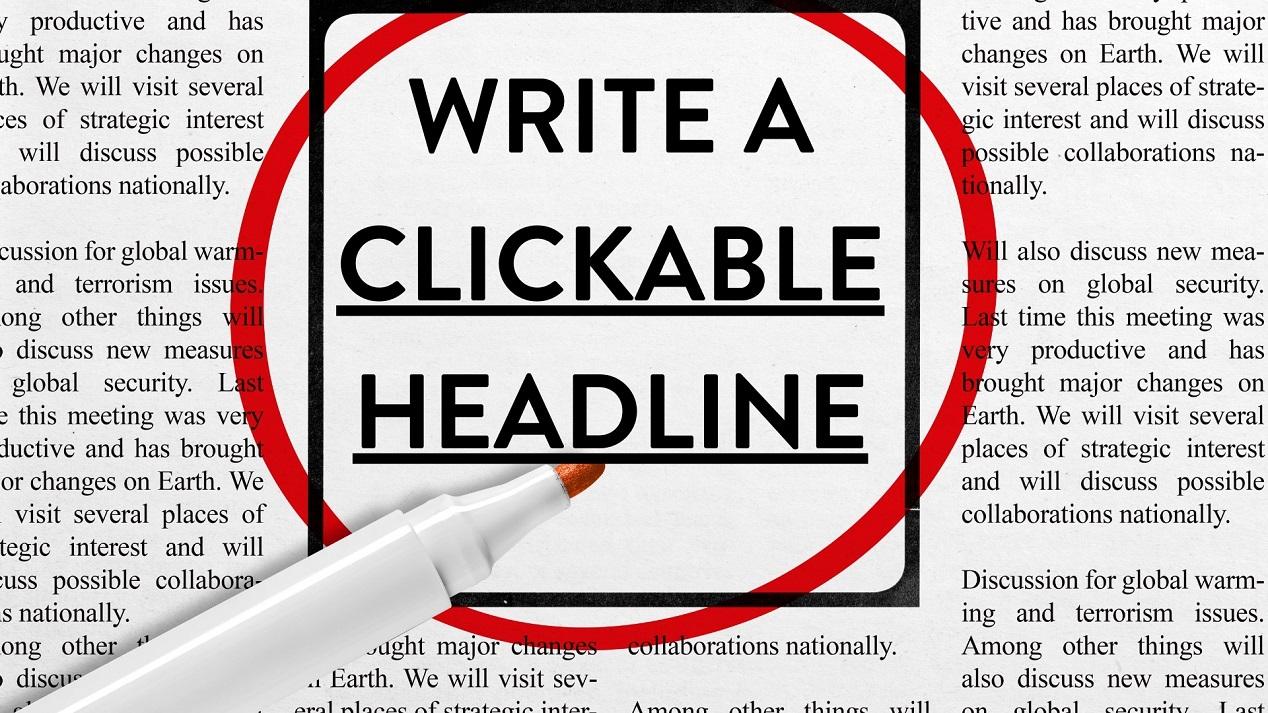 Blog SEO tips - Write a clickable headline - Northern Ireland freelance copywriter for hire