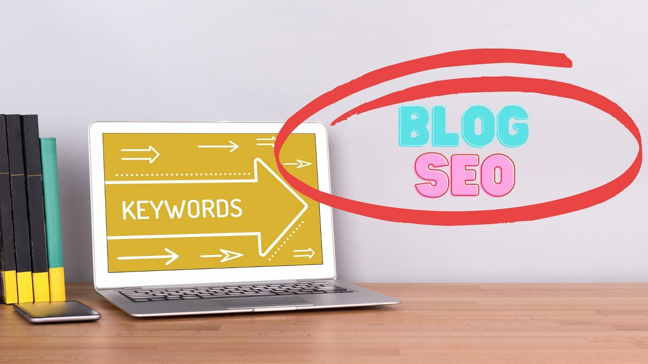 Use keywords and key phrases throughout your blog or web content to optimise your content - Content Writer Belfast