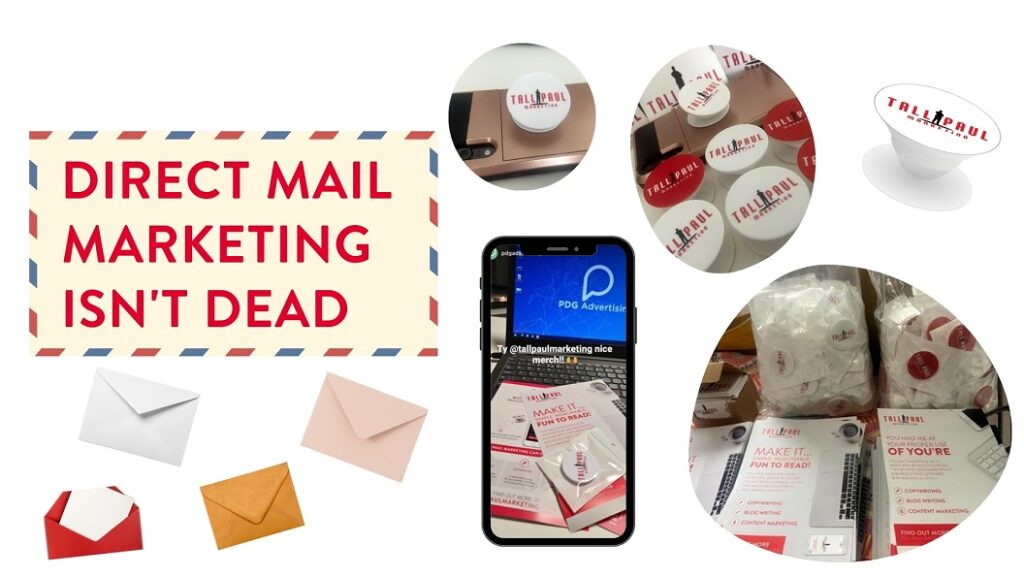 Direct Mail Marketing Isn't Dead - copywriter northern ireland
