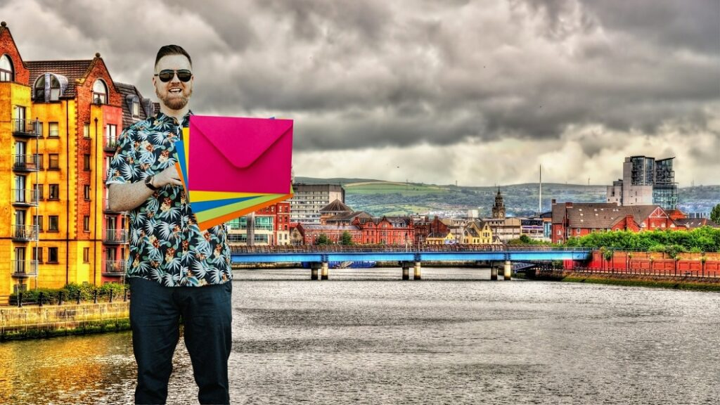 Direct mail marketing ideas and examples - be creative with mail shots - northern ireland content writer