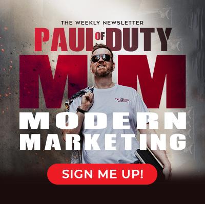 Tall Paul Marketing Newsletter - Paul of Duty, Modern Marketing - Northern Ireland freelance copywriter