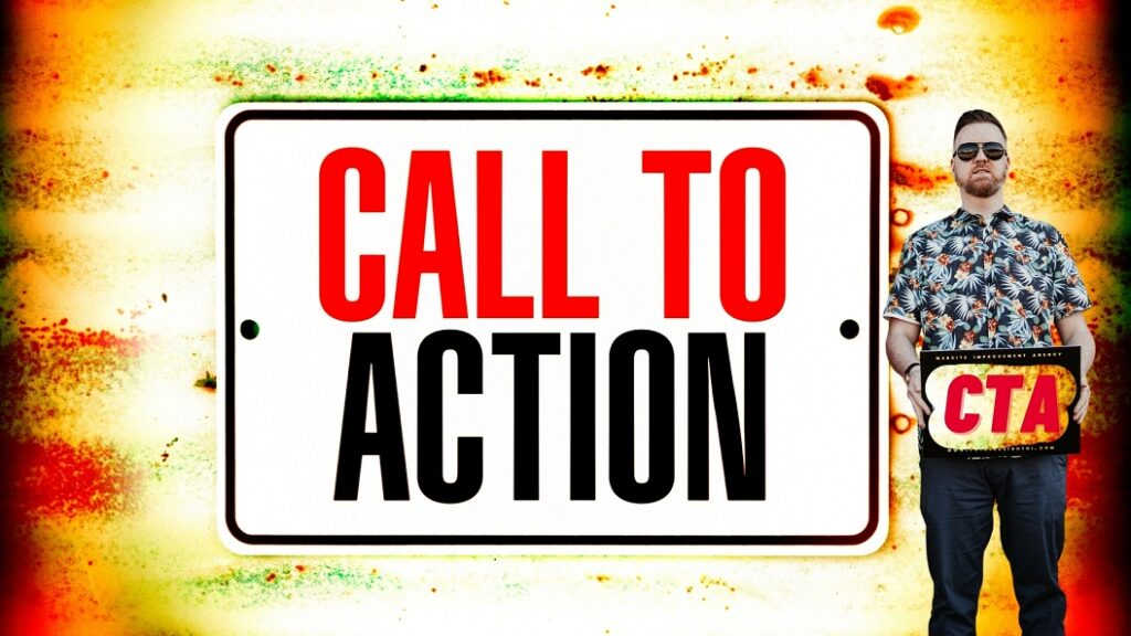 Website visitors want Clear Calls To Action - freelance copywriter belfast - ni marketing blog