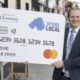 First Northern Ireland £100 Spend Local Cards Issued Today - copywriters ireland - belfast freelancer
