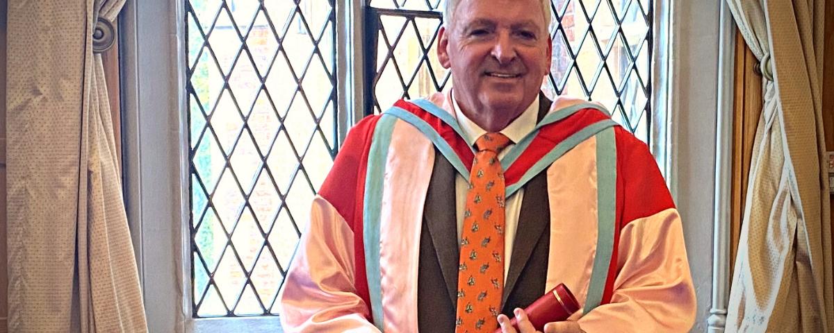 Newry's Feargal McCormack Receives Queen's University Honours - belfast copywriter - web content writer ni